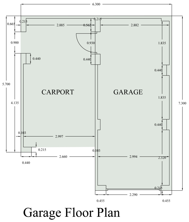 New Home Meadowside Garage Plan
